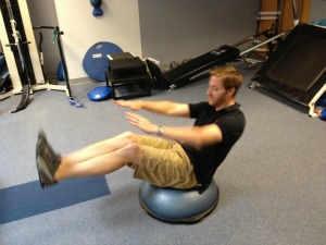 BOSU Ball Workout For Your Core Muscles