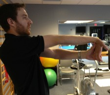 Golfer's Elbow Self Stretch