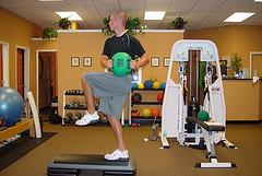 Standing balance and rotation