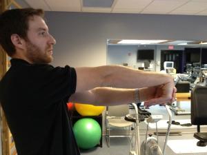 Tennis elbow stretch