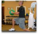 Lunge with rotation