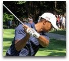 Tiger Woods back swin
